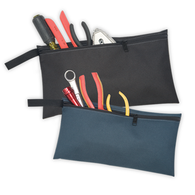 2 Multi-Purpose Zippered Bags