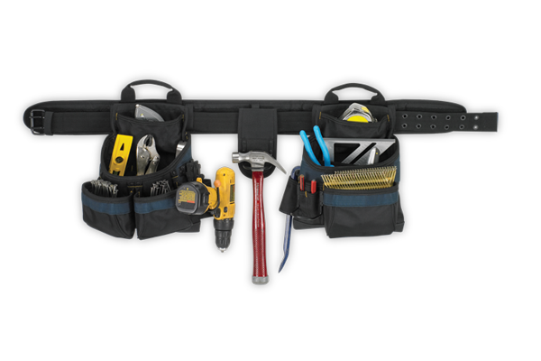 17 Pocket - 3 Piece Electrician's Combo Tool Belt