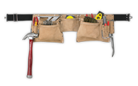 12 Pocket Heavy-Duty Work Apron
