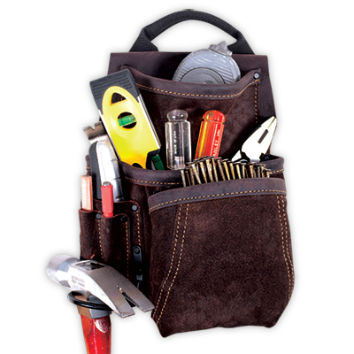 6 Pocket Deluxe Component Nail & Tool Bag