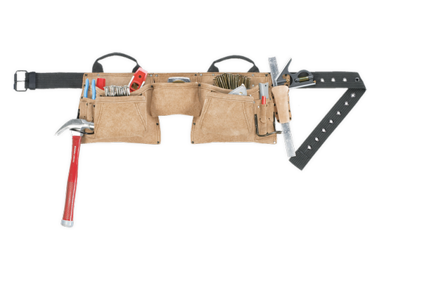 12 Pocket Construction Work Apron