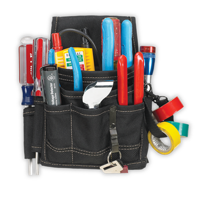 9 Pocket Electrical & Maintenance Pouch
