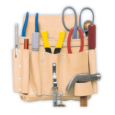 8 Pocket Electrician's Tool Pouch