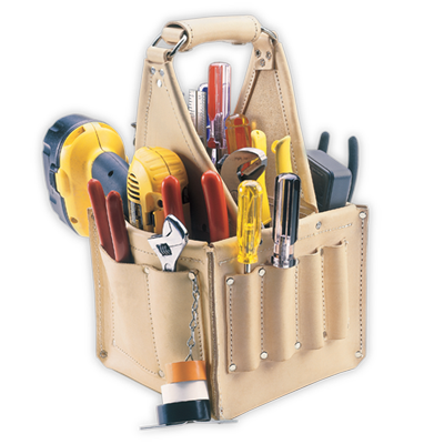 17 Pocket Electrical & Maintenance Tool Pouch