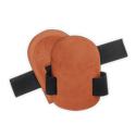Molded, Natural Rubber Kneepads