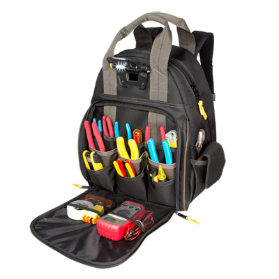 Tech Gear™ 53 Pocket - Lighted Backpack