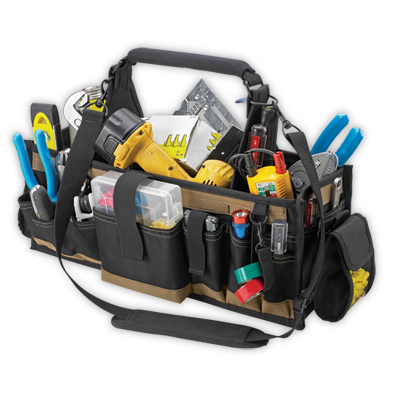 43 Pocket Electrical & Maintenance Tool Carrier