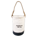 "12"" Leather Bottom Utility Bucket"