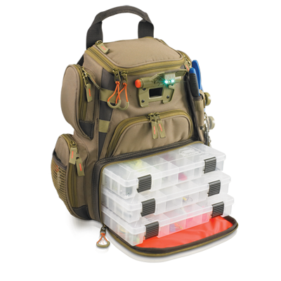Tackle Tek™ Recon - Lighted Compact Backpack